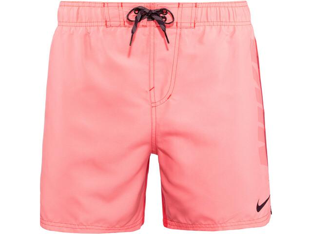 """Nike Swim Rift Vital 3"""" Shorts de Volley Hombre, rojo"""